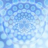 Het blauw van de abstractie met patroon Stock Afbeeldingen