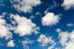 Het blauw van de hemel Stock Afbeeldingen