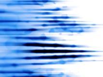 Het Blauw van de motie Stock Fotografie