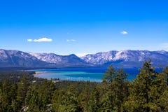 Het blauw van de Tahoewildernis royalty-vrije stock fotografie
