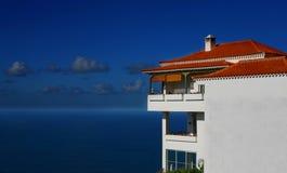 Het Blauw van de Villa van Tenerife Stock Afbeelding