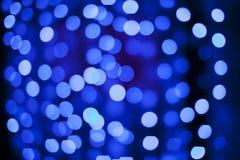 Het blauw van Defocused Stock Foto's
