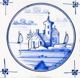 Het Blauw van Delft royalty-vrije stock foto