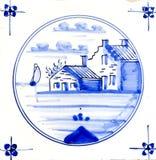 Het Blauw van Delft stock foto