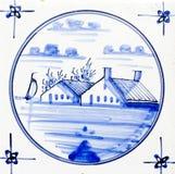 Het Blauw van Delft stock afbeeldingen