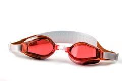 Het blauw zwemt beschermende brillen Royalty-vrije Stock Fotografie