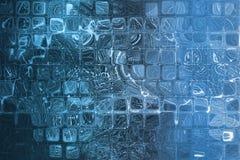Het blauwe Abstracte Collectieve Net van Internet van Gegevens Royalty-vrije Stock Afbeelding