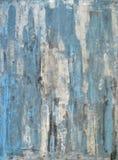 Het blauwe Abstracte Schilderen van de Kunst stock foto's