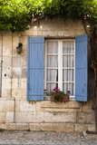 Het blauwe blind Heilige Jean DE Cole van de architectuur Royalty-vrije Stock Foto's