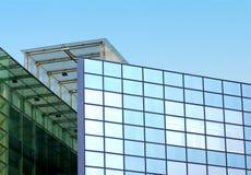 Het blauwe Detail van de Wolkenkrabber Royalty-vrije Stock Afbeeldingen
