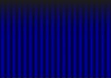 Het blauwe Gordijn van het Fluweel Royalty-vrije Stock Afbeeldingen