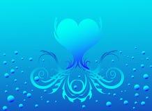 Het blauwe Leven Stock Foto's