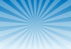 Het blauwe Licht van de Zon Stock Fotografie