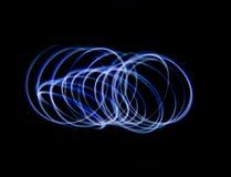 Het blauwe Lichte Schilderen royalty-vrije stock afbeeldingen