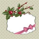 Het blauwe magische frame van Kerstmis Royalty-vrije Stock Fotografie