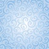 Het blauwe naadloze ontwerp van de patroonuitnodiging Stock Foto's