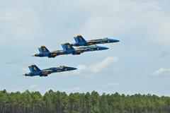 Het blauwe Opstijgen van Engelen Stock Foto