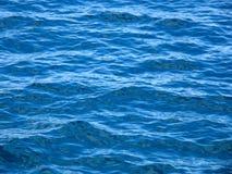 Het blauwe overzees van Ripply Royalty-vrije Stock Foto's
