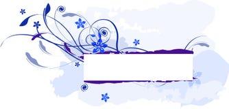 Het blauwe Overzeese Etiket van de Hemel Royalty-vrije Stock Foto