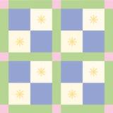 Het blauwe Patroon van de Controle royalty-vrije illustratie