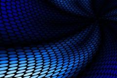 Het blauwe Patroon van de Vlek Royalty-vrije Stock Afbeelding