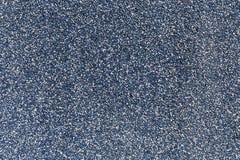 Het blauwe patroon van kleuren kleine stenen, grinttextuur Stock Foto
