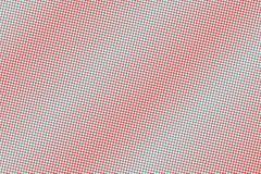 Het blauwe rood stippelde halftone Frequente gestippelde gradiënt Halftintachtergrond royalty-vrije illustratie