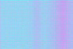 Het blauwe roze stippelde halftone Contrast regelmatige gestippelde gradiënt Halftintachtergrond vector illustratie