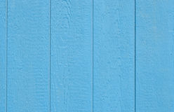 Het blauwe schuur houten opruimen Royalty-vrije Stock Fotografie