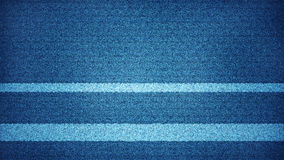Het blauwe televisiescherm met statisch lawaai vector illustratie