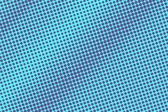 Het blauwe viooltje stippelde halftone Diagonale geweven gestippelde gradiënt Halftintachtergrond stock illustratie