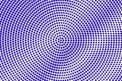 Het blauwe wit stippelde halftone Ruwe grungy gestippelde gradiënt Halftintachtergrond stock illustratie
