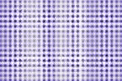 Het blauwe wit stippelde halftone Verticale regelmatige gestippelde gradiënt Halftintachtergrond stock illustratie
