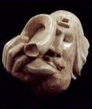 Het blazen van Shofar door Shimon Drory royalty-vrije stock fotografie