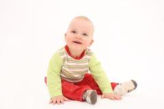 Het blije kind stock afbeelding
