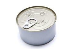 Het blik van het tin stock foto