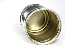 Het Blik van het tin Stock Fotografie