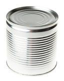 Het blik van het tin Stock Afbeelding