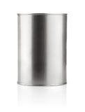 Het blik van het tin met verf Stock Fotografie