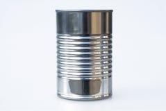 Het Blik van het Tin van het staal Royalty-vrije Stock Foto's