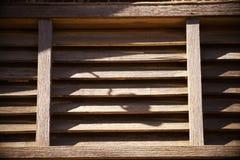 Het blind van het venster Stock Foto