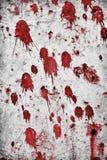 Het bloed ploetert Stock Afbeelding