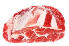 Het bloedige en Sappige Ruwe Vlees van het Varkensvlees Royalty-vrije Stock Foto's