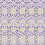 Het bloemen abstracte patroon van de ontwerptextuur stock foto