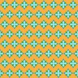 Het bloemen naadloze patroon Stock Fotografie