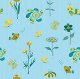 Het bloemen naadloze patroon van de lente Royalty-vrije Stock Fotografie