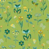 Het bloemen naadloze patroon van de lente Stock Afbeelding