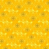 Het bloemen Patroon van het Behang Royalty-vrije Stock Foto