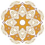 Het Bloemenontwerp van Paisley Royalty-vrije Stock Afbeelding
