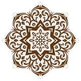 Het Bloemenontwerp van Paisley Stock Afbeelding